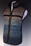 Mohair Collared Vest