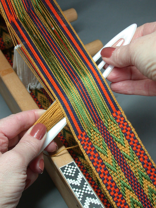 Weaving on an Inkle Loom | Syne Mitchell